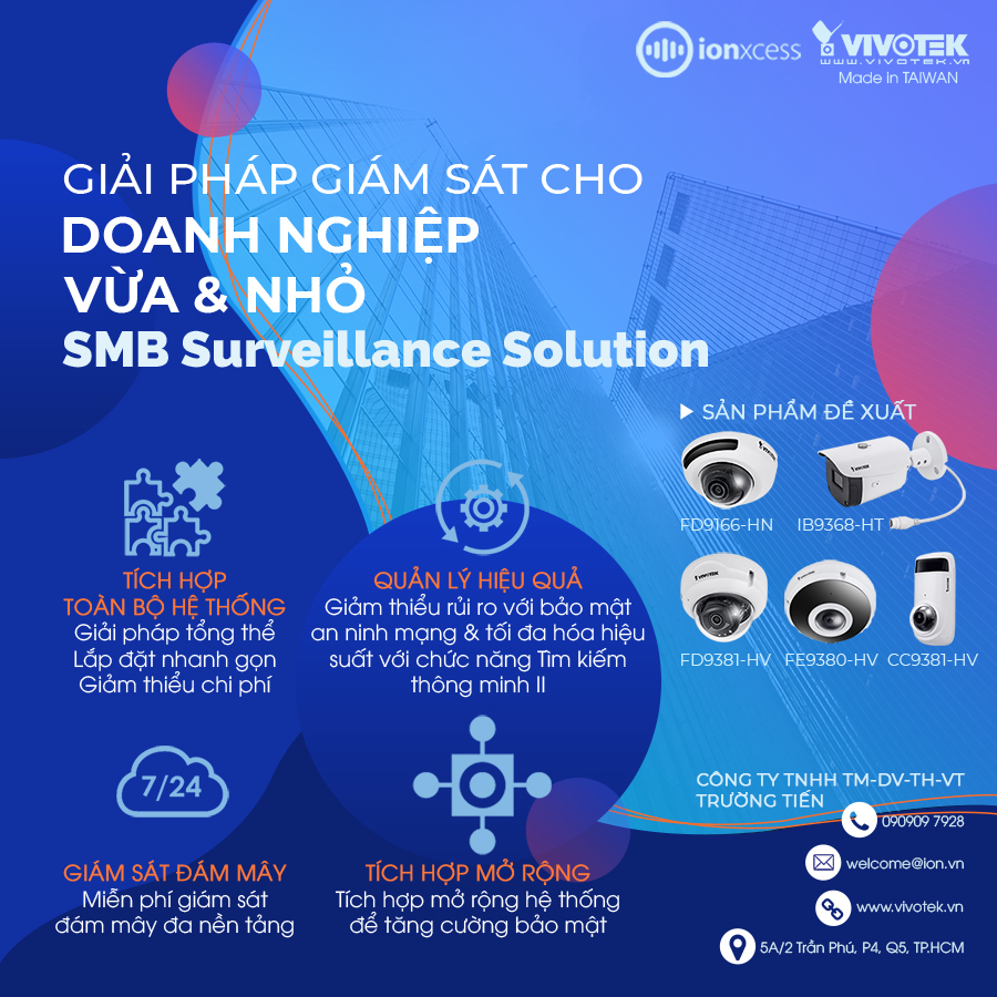 smb surveillance solution